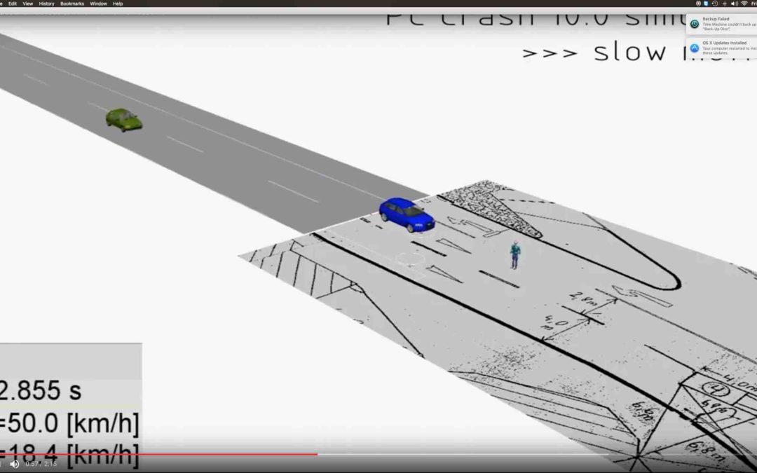 Volvo pedestrian avoidance technology